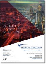 Spring Statement 2019 Summary - Griffin Chapman