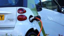Charging electric car